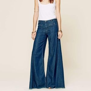 Free People Vintage Extreme Flare in Autumn Nights
